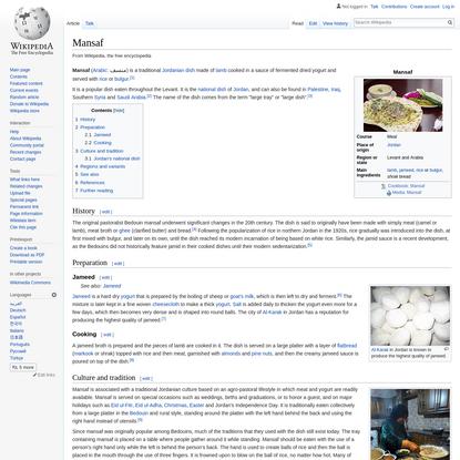 Mansaf - Wikipedia