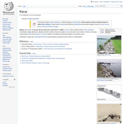 Riprap - Wikipedia