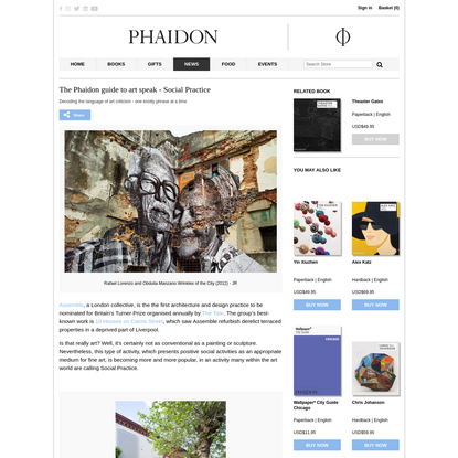 The Phaidon guide to art speak - Social Practice   Art   Agenda   Phaidon