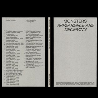 * By @nicolooriani Monsters - Apparences are Deceiving * #stunningbookdesigns #stunningbook #visualarts #visualgraphics #its...
