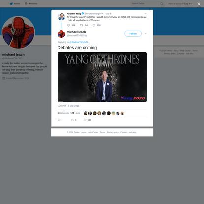 michael leach on Twitter