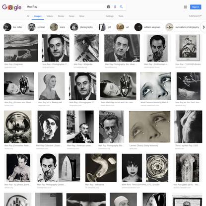 Man Ray - Google Search