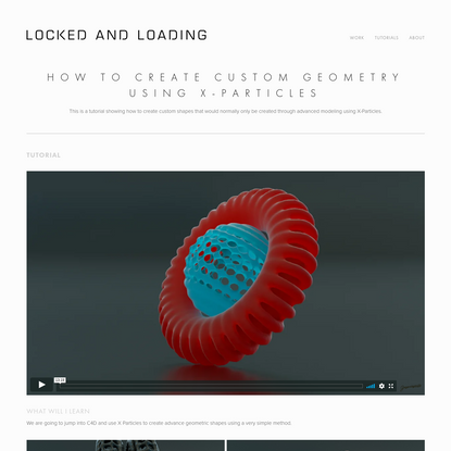Custom_Geo_tutorial - locked and loading