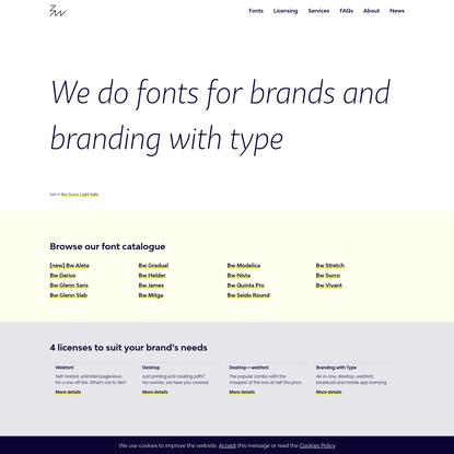Branding with Type