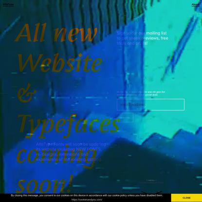 AlfaType Fonts Foundry
