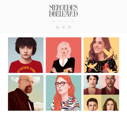 Mercedes DeBellard | Freelance Illustrator