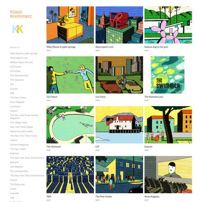 Klaus Kremmerz - Projects