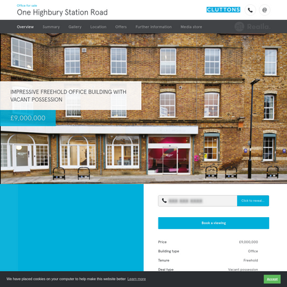 One Highbury Station Road - Office for sale