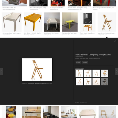 marc berthier designer - Google Search