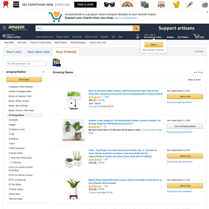 Check out my list on Amazon