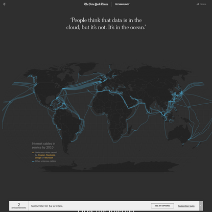How the Internet Travels Across Oceans