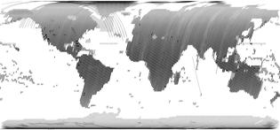Landsat global imagery coverage, 2016