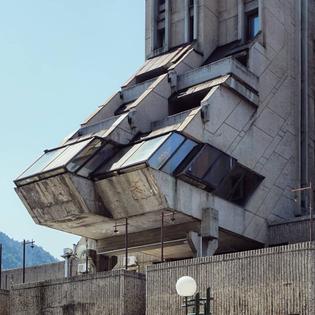 Hotel Zlatibor, Užice, Serbia 1979-1981 Architect Svetlana Kana Radević