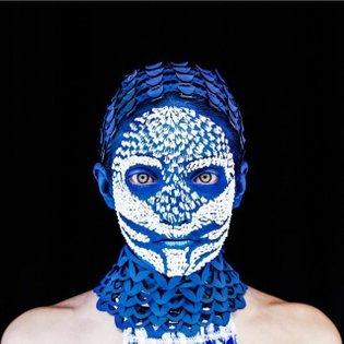 Photo by Madame Peripetie. #mask #falseface #madameperipetie #blue