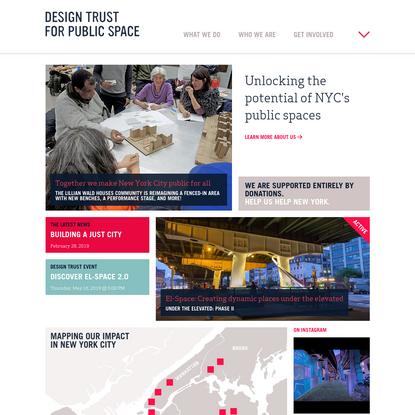 Design Trust for Public Space