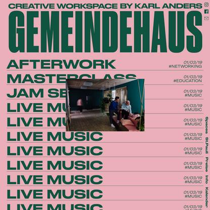 Gemeindehaus - Creative Workspace