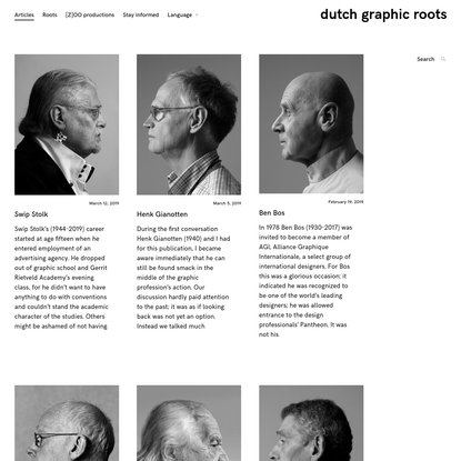 dutch graphic roots