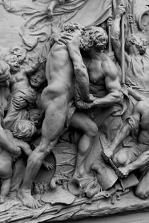 Jules Dalou - La Fraternité des Peuples, 1883 (Detail)