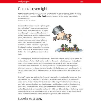 Colonial oversight