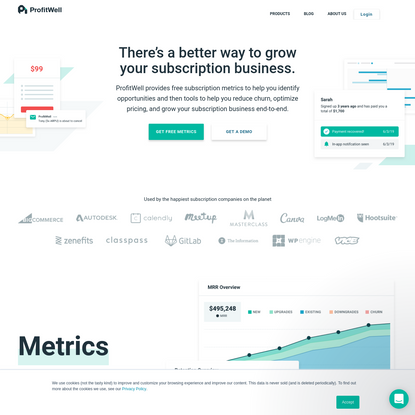 Subscription business financial metrics. Absolutely free.