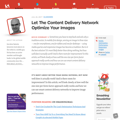 Let The Content Delivery Network Optimize Your Images — Smashing Magazine