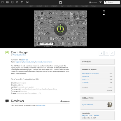 Zaum Gadget : Amendant Hardiker : Free Download, Borrow, and Streaming : Internet Archive