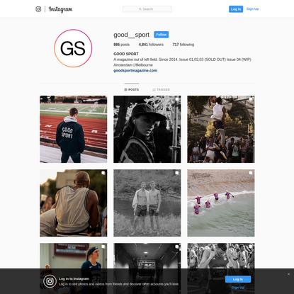 GOOD SPORT (@good__sport) * Instagram photos and videos