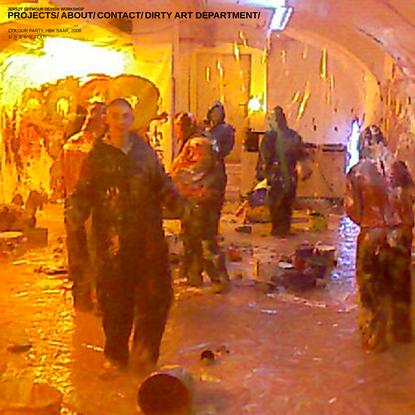 COLOUR PARTY, 2008 - JERSZY SEYMOUR DESIGN WORKSHOP