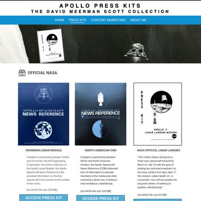 Apollo Presskit Directory