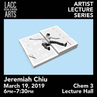 Can't believe it, but or 3rd artist lecture is around the corner. Come join us March 19 at 6pm in Chem 3 to hear @some_all_n...