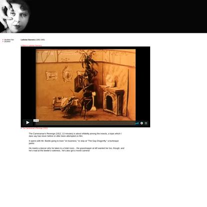 UbuWeb Film & Video: Ladislaw Starewicz - The Cameraman's Revenge (1912)