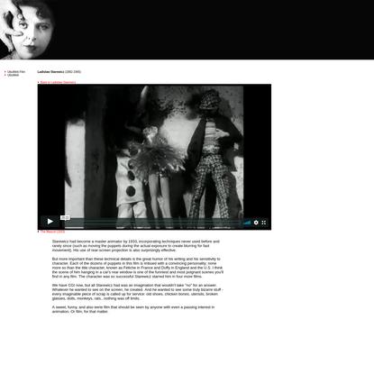 UbuWeb Film & Video: Ladislaw Starewicz - The Mascot (1933)