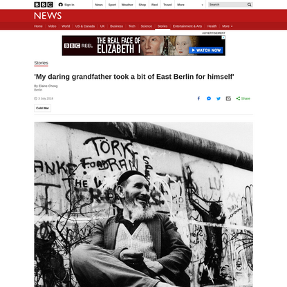 'My daring grandad grabbed a bit of East Berlin'