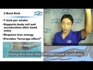 Seminar01-14:Four points for easier freestyle kicking (English subtitles)