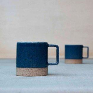 simply blue 💙 . . . . . . . . . . . . . . . #pawenastudio #mug #handnademug #lavender #texture #design #tableware #ceramics ...