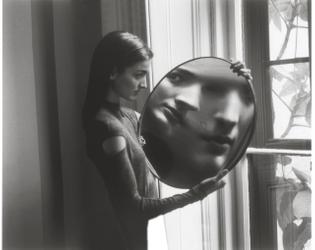 Duane Michals, Heisenberg's Magic Mirror of Uncertainity, 1998, 1998