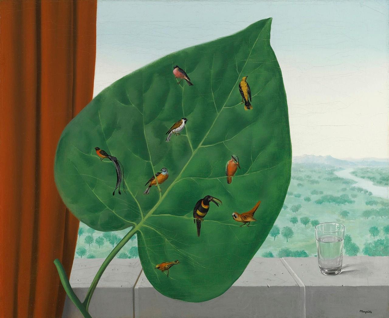 René Magritte, Le Regard Intérieur, 1942