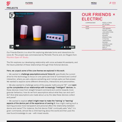 Our Friends Electric - Superflux