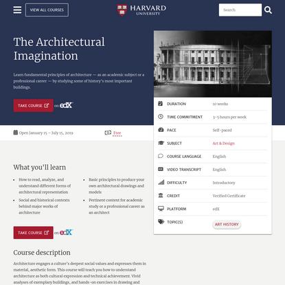 The Architectural Imagination