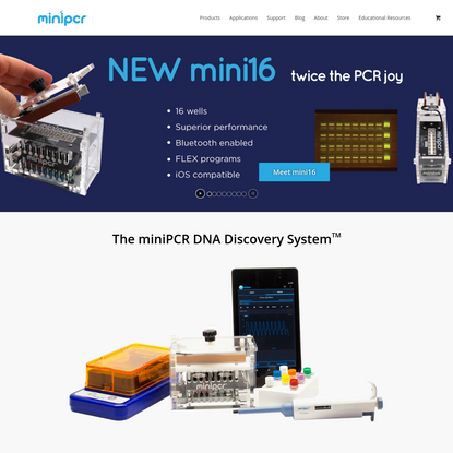 miniPCR - The DNA Discovery System™