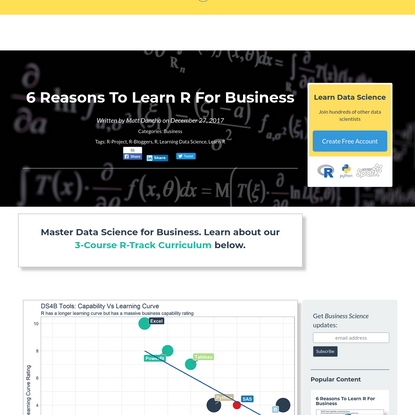 6 Reasons To Learn R For Business