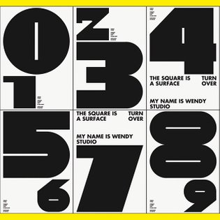 Turnover typeface Type design / Layout / Typographical composition See more ->>> Behance My Name is Wendy #graphicdesign #my...