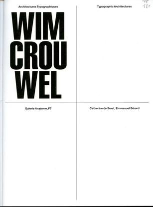 Typographic Architectures