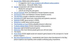 Social System Games Night