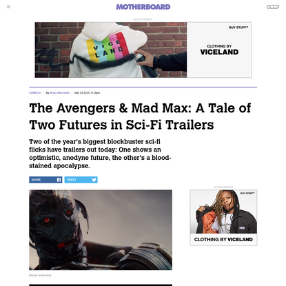 The Avengers & Mad Max: A Tale of Two Futures in Sci-Fi Trailers