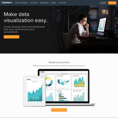 DataHero: Chart Any Data, Anywhere