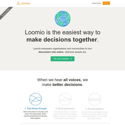 Loomio   Collaborative Decision-Making