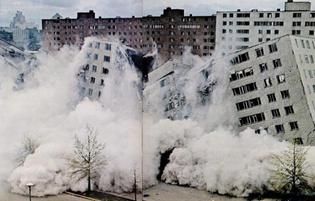 Pruitt-Igoe demolition | '70s St Louis