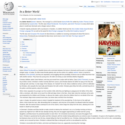 In a Better World - Wikipedia