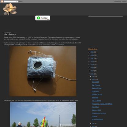 Kite + Camera